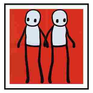 STIK - HOLDING HANDS - RED