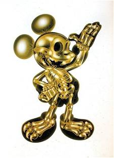 NEST - X-RAY GOLD MICKEY MOUSE - UNIQUE