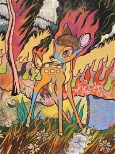 DILLON BOY - BAMBI CALIFORNIA WILDFIRES - ORIGINAL