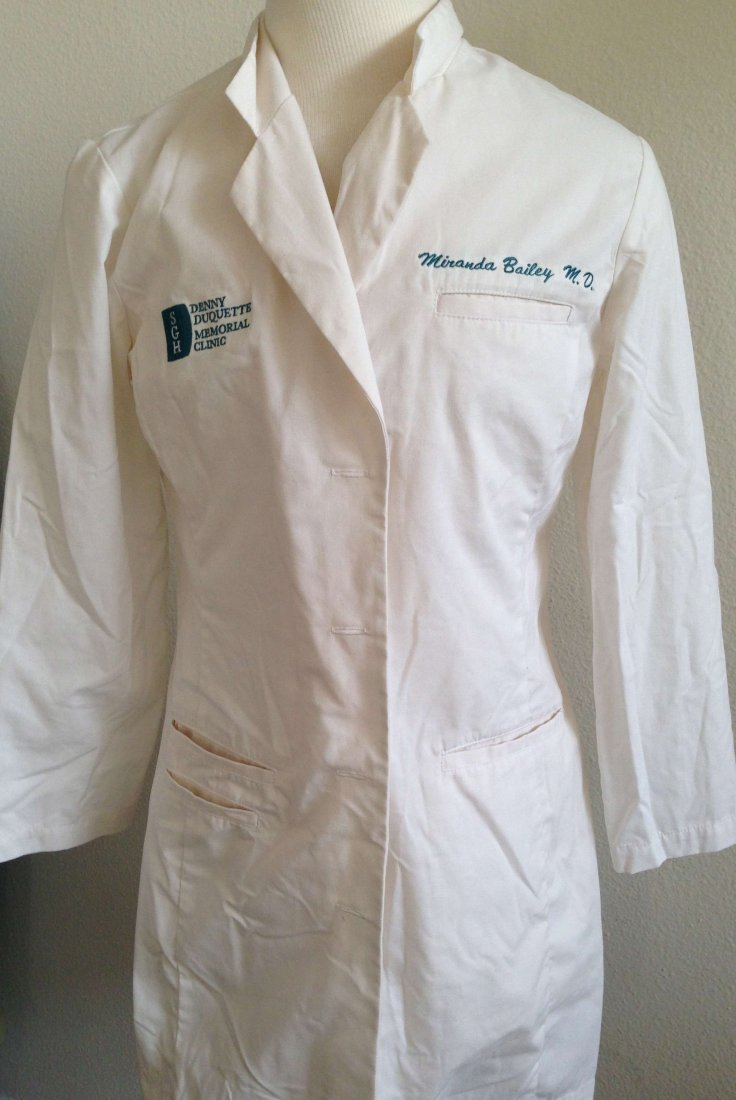 Greys Anatomy Dr. Miranda Bailey Screen worn White Coat