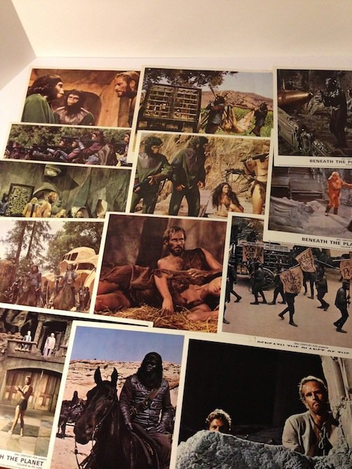 Beneath the Planet of the Apes British Lobby Cards