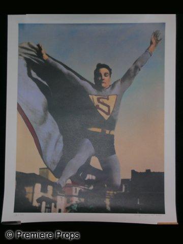 1936 Superman Poster