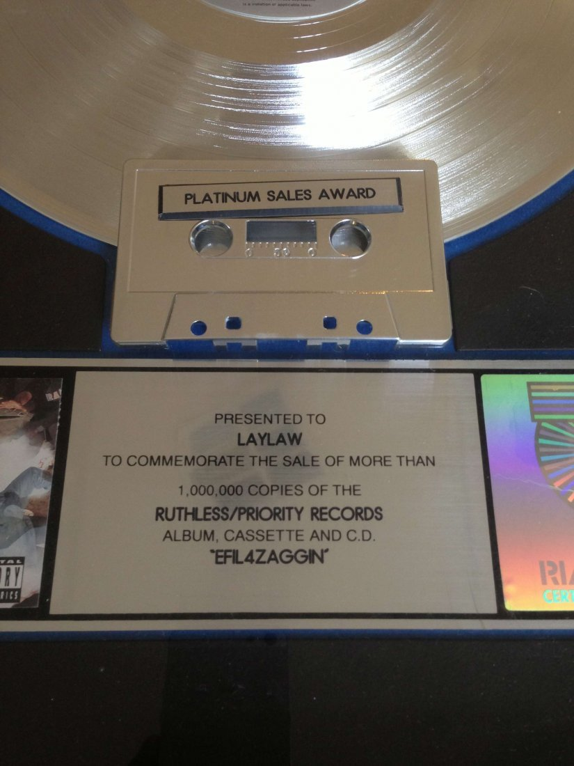 NWA RIAA Platinum Sales Award