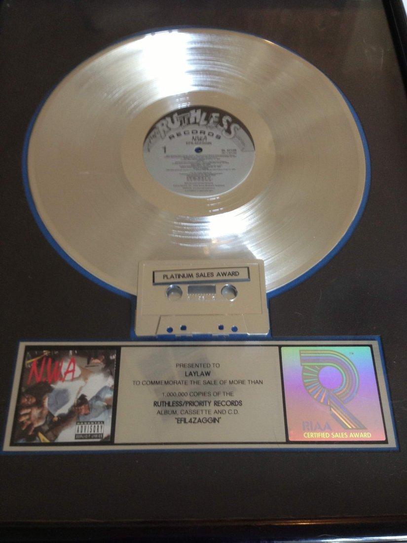 NWA RIAA Platinum Sales Award - 2