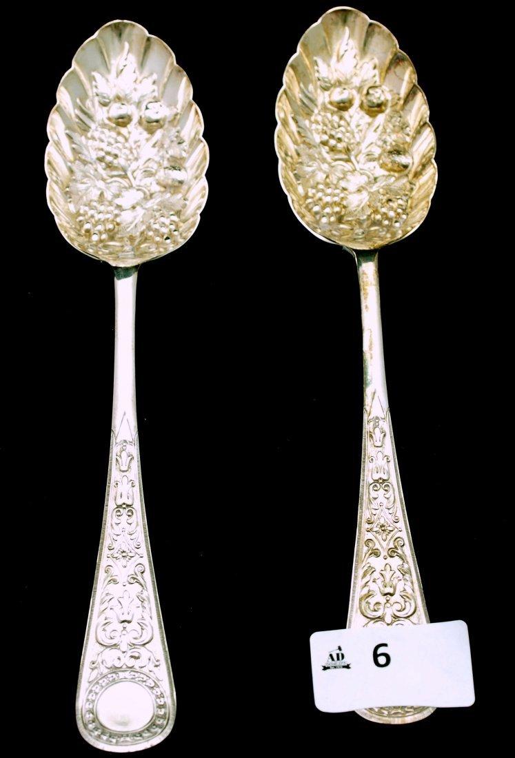 Pair Berry Spoons
