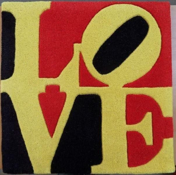 "INDIANA Robert : ""Liebe LOVE"" - orig. 24x24"" SIGNED WOO"