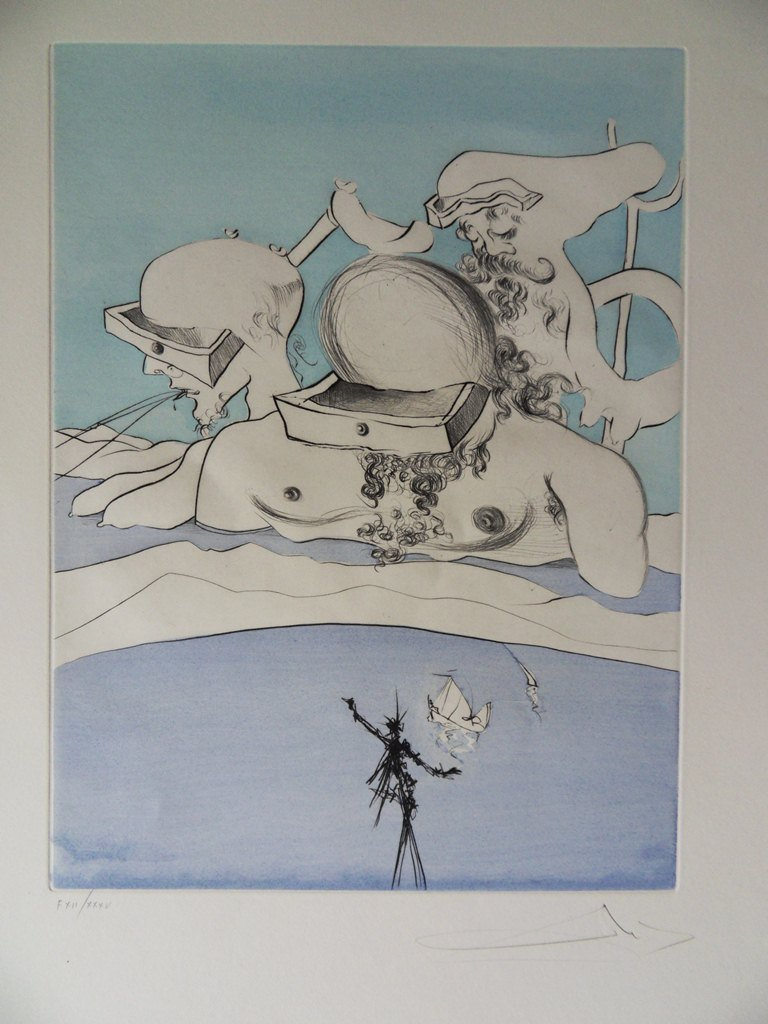 """DALI Salvador : """"Apres 50 ans de Surrealisme"""""""