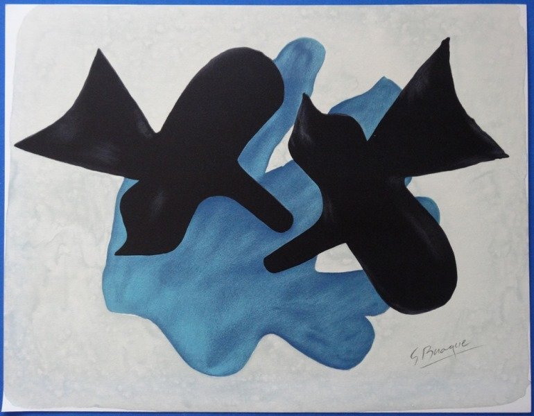 BRAQUE Georges : Complete Set of 13 signed lithographs