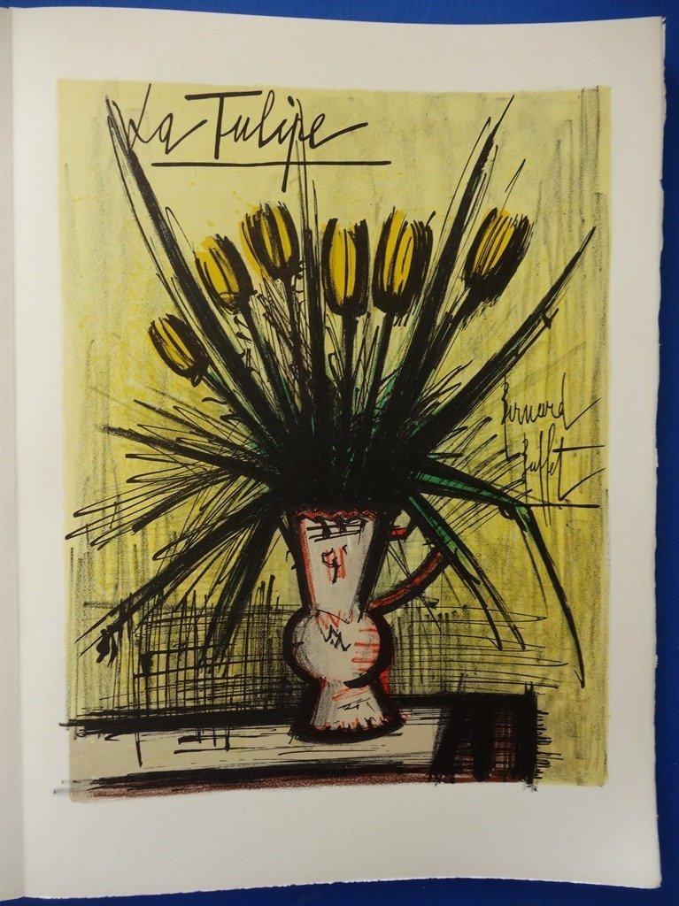 BUFFET Bernard : Herbier - 16 lithographs