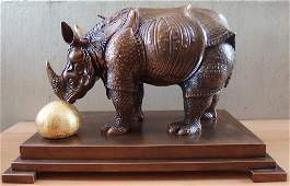 DALI Salvador  Rhinoceros  Tall 15 BRONZE