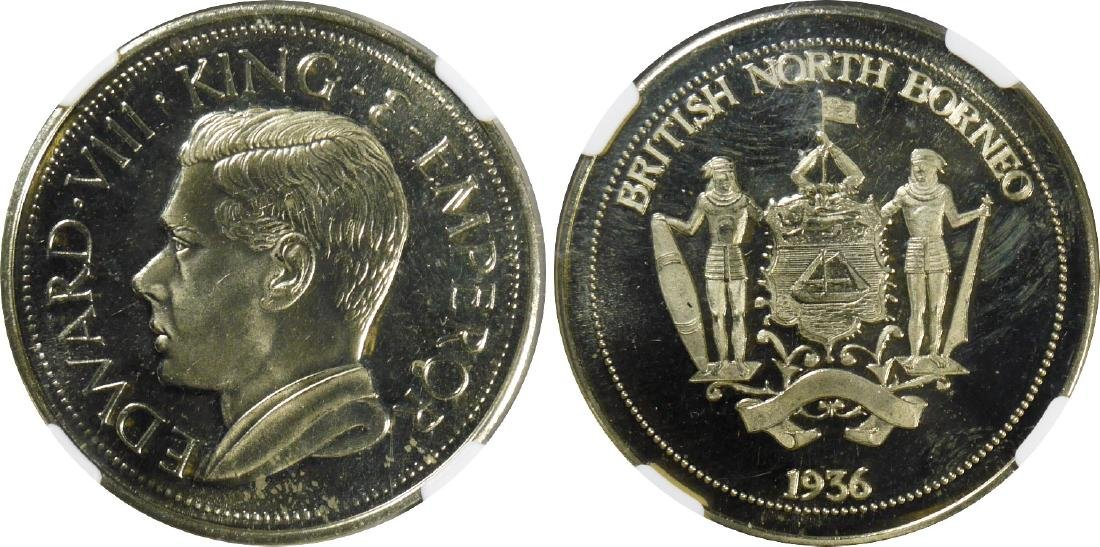 British North Borneo, 1936 – dated, Fantasy