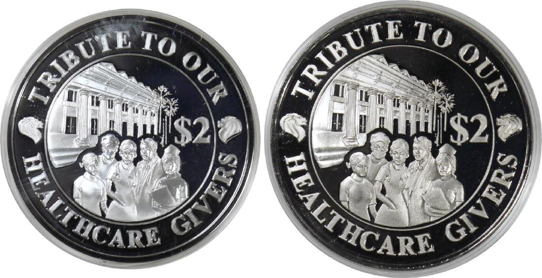 SG, 2003, Tribute to our Healthcare Givers Mintage: