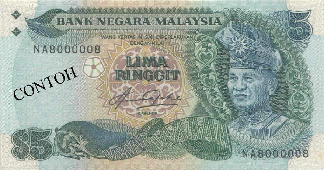 MY, 5th series, RM 5, NA8000008