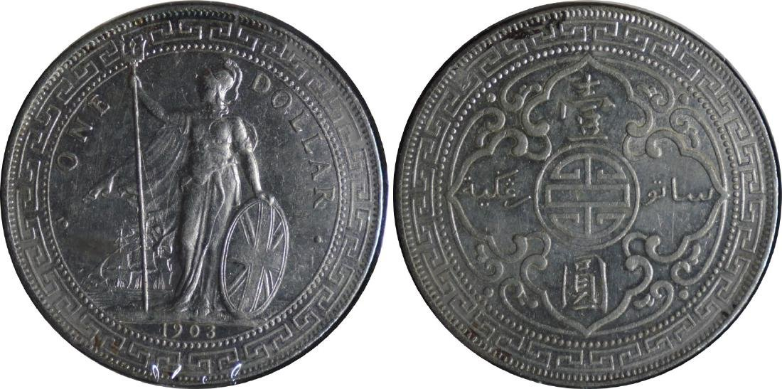 Great Britain, Silver Trade Dollar