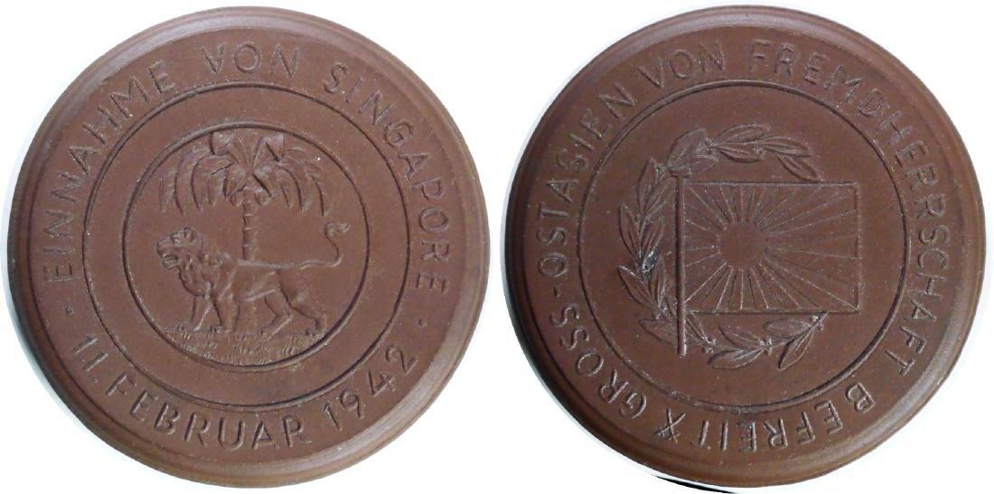 Singapore / Japanese Medal