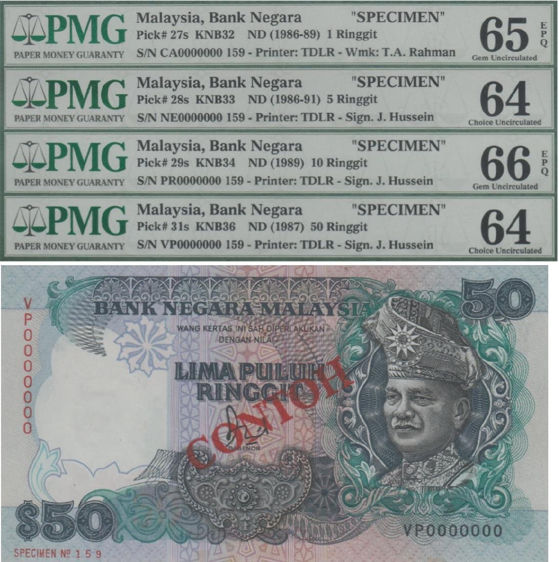 Malaysia, 6th series Banknote(s)