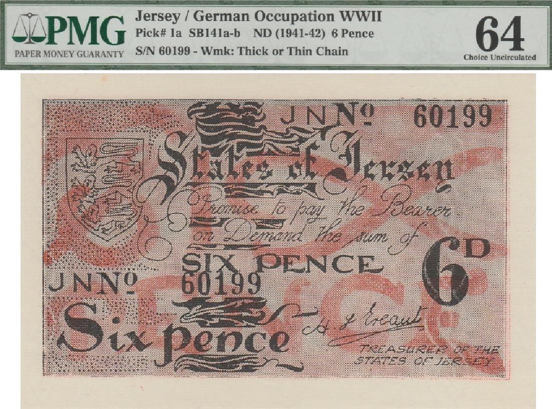Jersey / German Occupation 6 Pence