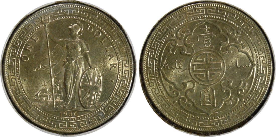 Great Britain, Silver Trade Dollar