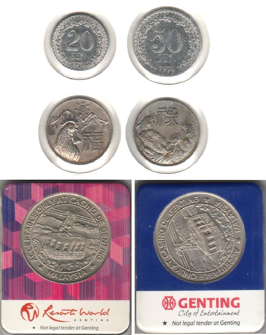 Malaysia, Genting Highland tokens