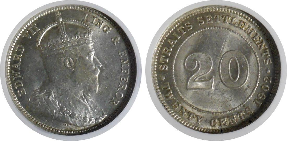 Straits Settlements, Silver Coin(s)
