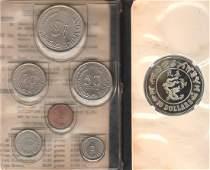 SG, 1969, 1c - $1, 6pcs official set in plastic wallet