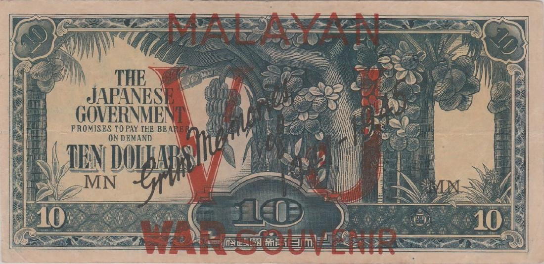 Malaya / Japanese Occupation