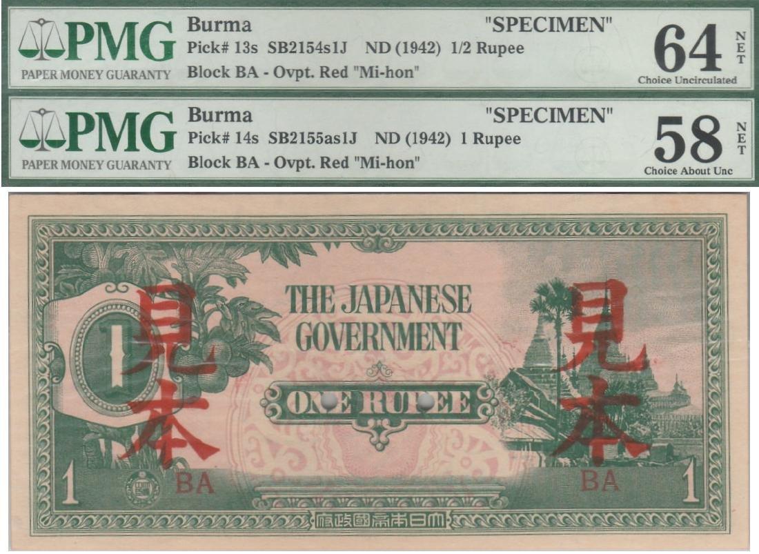 Burma / Japanese Occupation,