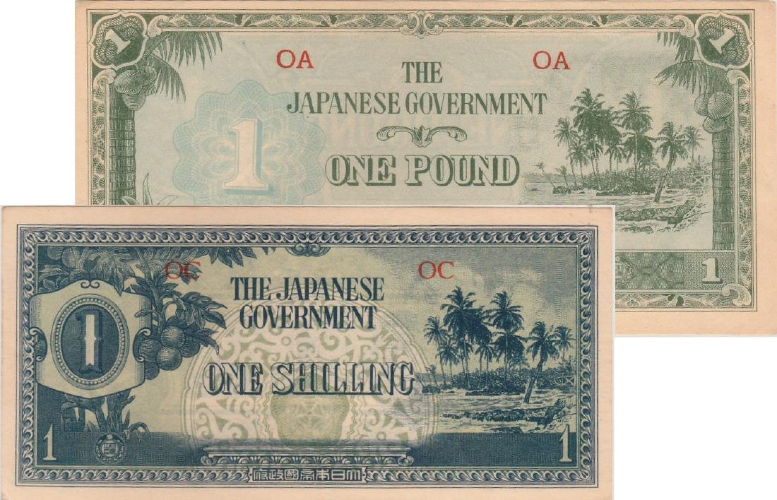 Oceania / Japanese Occupation,