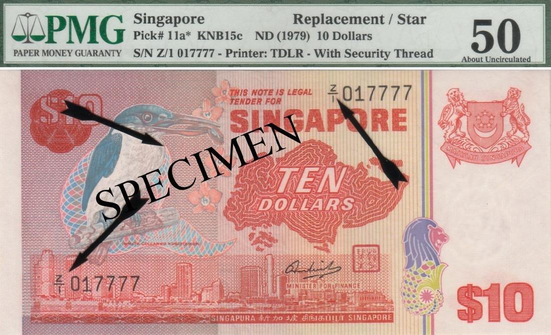 Singapore, Bird series