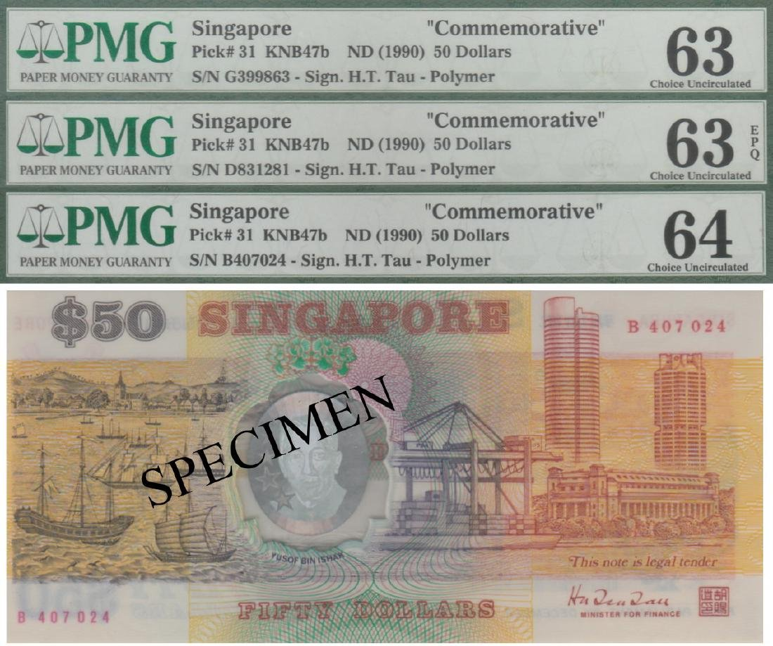 Singapore, Commemorative