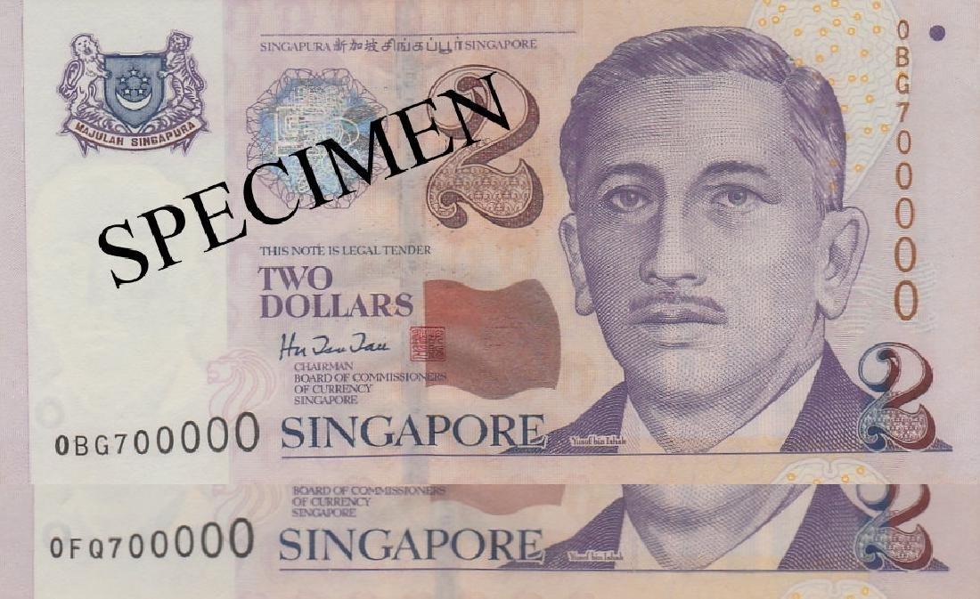 Singapore, Portrait series