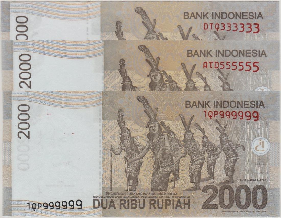 Indonesia, 2015, 2000 Rupiah