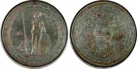 Great Britain, 1904B, Silver Trade Dollar