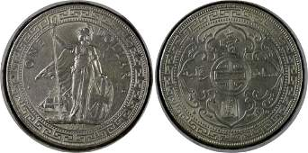 Great Britain, 1925, Silver Trade Dollar