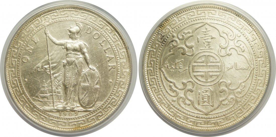 British Trade Dollar, 1909/8-B