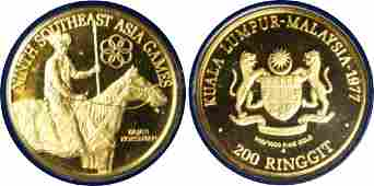 Gold Proof RM200 1977