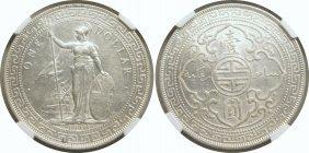 British Trade Dollar, 1901c. NGC AU-Details