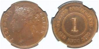 1891, Bronze Proof Cent