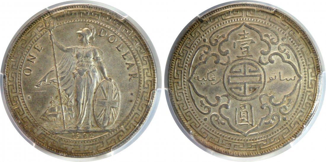 British Trade Dollar, 1902B