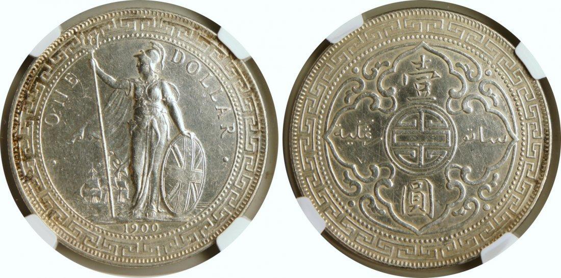 British Trade Dollar, 1900B
