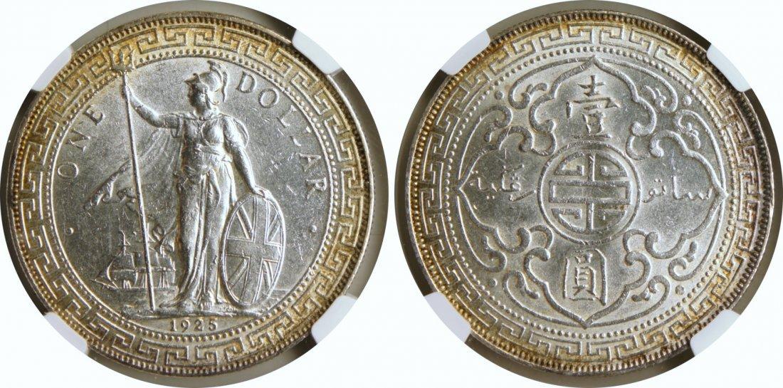 British Trade Dollar, 1925