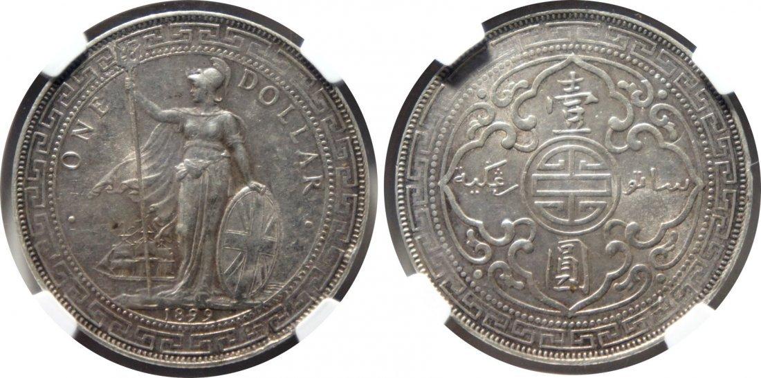 British Trade Dollar, 1899B