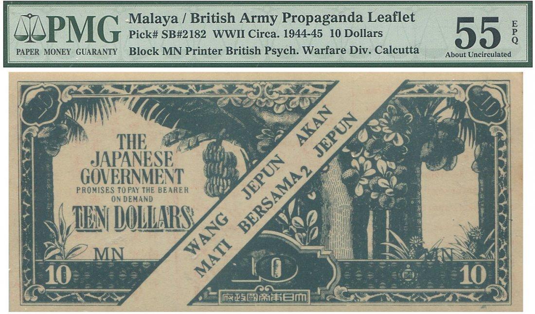 Malaya, WWII, British Army Propaganda
