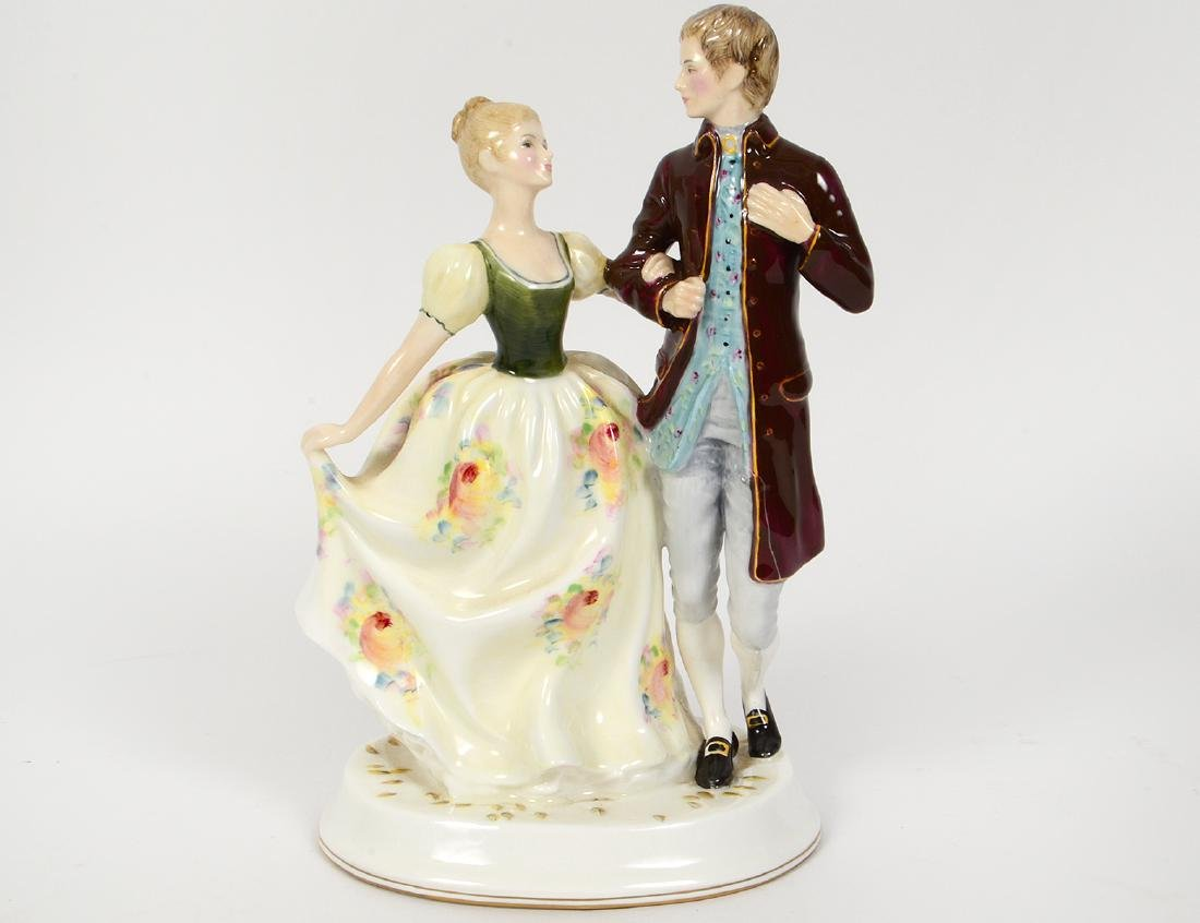 GROUP OF FIVE ROYAL DOULTON FIGURES - 5