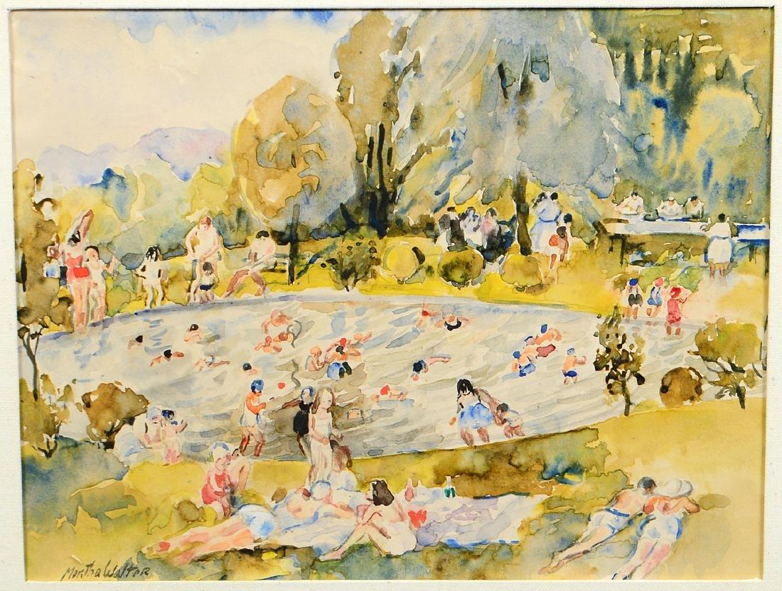 MARTHA WALTER (American/French. 1875-1976) - 2