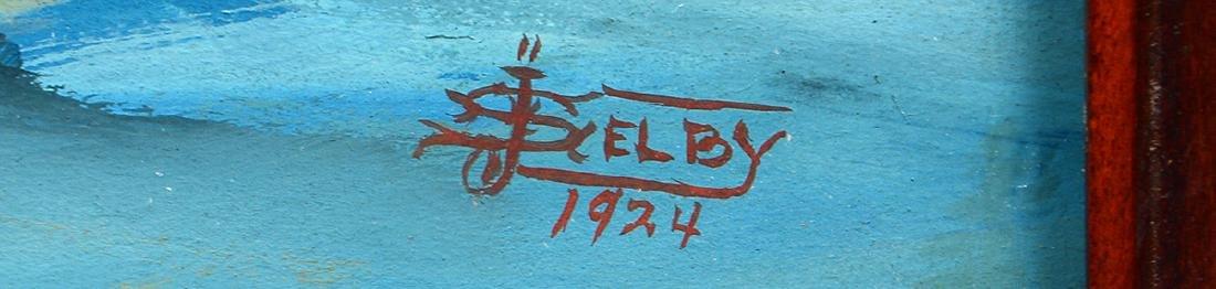 JOE SELBY (American. 1893-1960) - 3