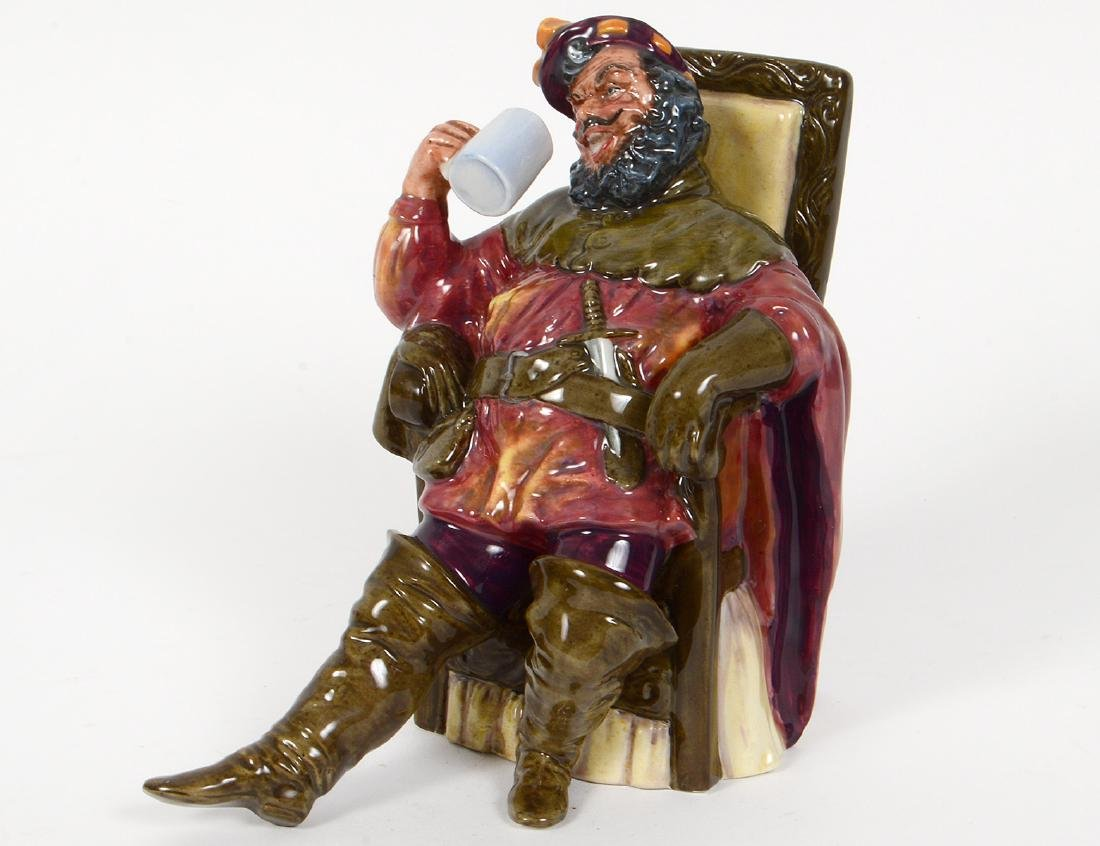 GROUP OF SIX ROYAL DOULTON FIGURES - 5