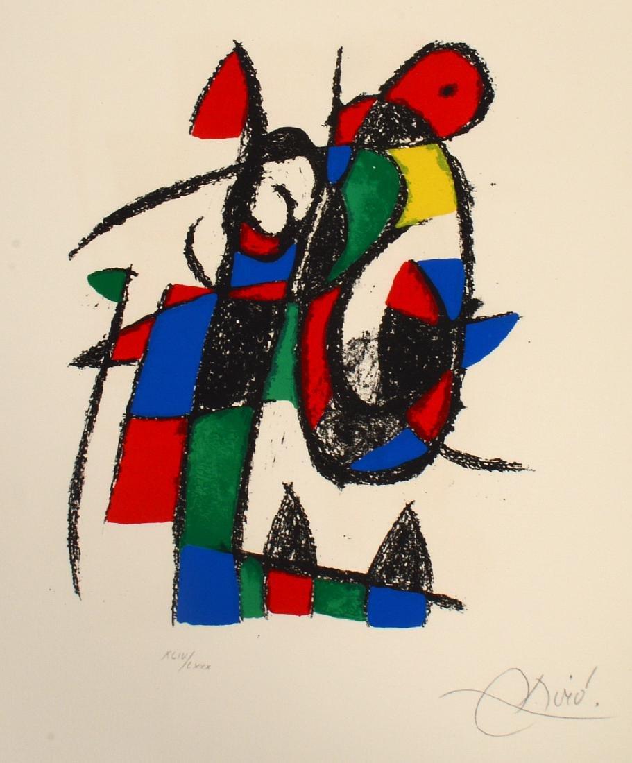JOAN MIRO (Spanish. 1893-1983) - 4