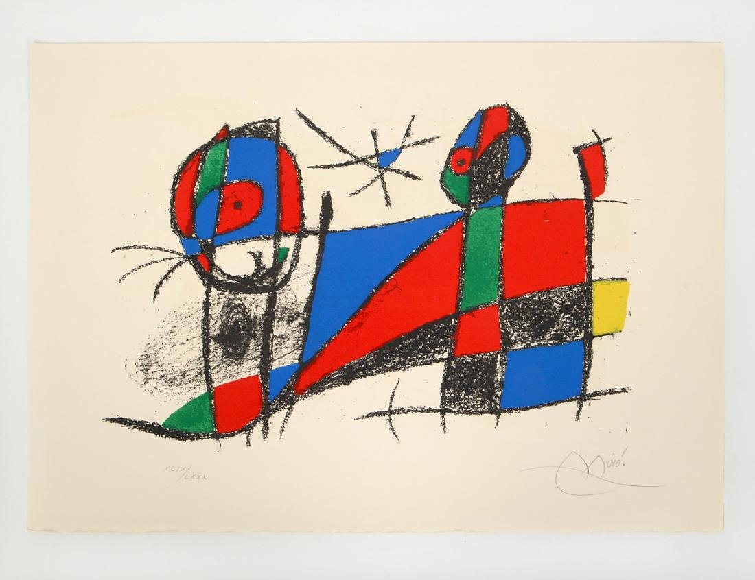 JOAN MIRO (Spanish. 1893-1983)