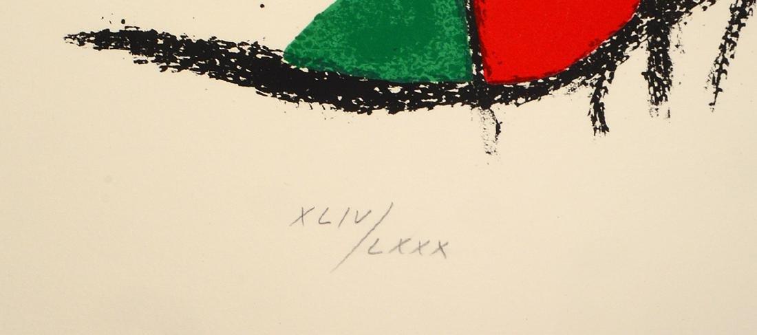 JOAN MIRO (Spanish. 1893-1983) - 3